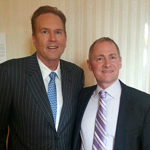 FPN President & CEO David Biemesderfer (r.) thanked Congressman Vern Buchanan for his support of Florida's philanthropic sector at a special FPN reception in Washington, DC.